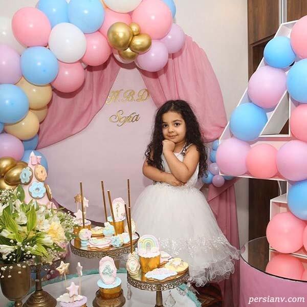 تولد دختر یکتا ناصر