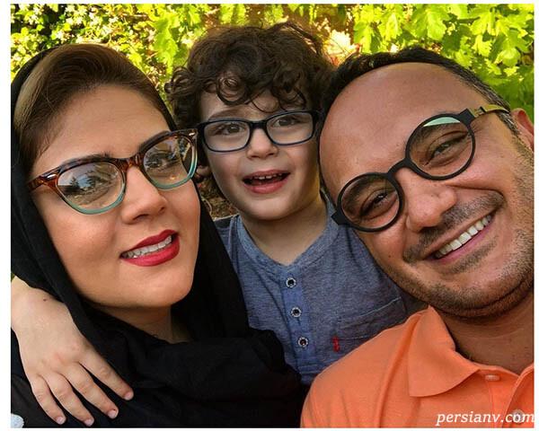 احسان کرمی و پسرش نیکمهر تا تولد نیلوفر شهیدی با فرزندان لیلا بلوکات