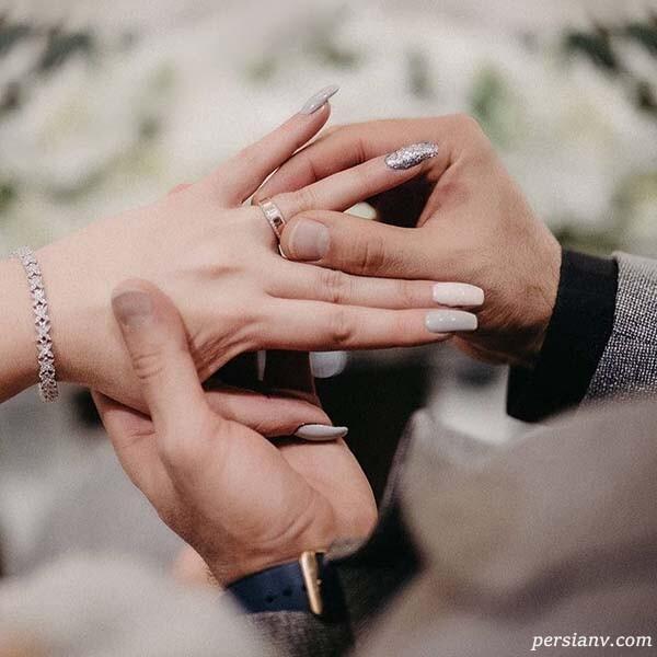 ازدواج نگین معتضدی