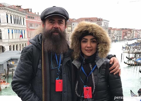 سارا صوفیانی و دخترش با عاشقانه همسرش تا برف بازی سوفیا هادی