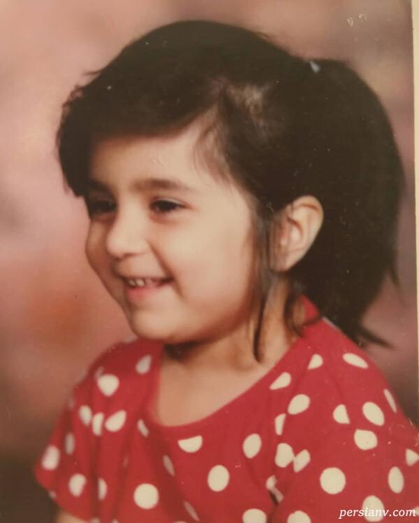 کودکی روژین رحیمی طهرانی