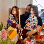 دختران رضا صادقی تا نبات شاهرخ استخری و شیوا طاهری با همسرش