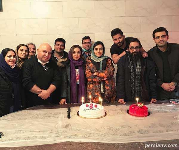 جشن تولد مهشید جوادی
