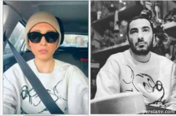 ازدواج نوید محمدزاده با فرشته حسینی