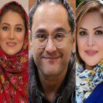 بازیگران سریال مردم معمولی از رامبد جوان تا خسرو پسیانی با الناز حبیبی