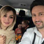 تبریک عید فطر بازیگران از بهنوش طباطبایی تا شبنم مقدمی با منوچهر هادی