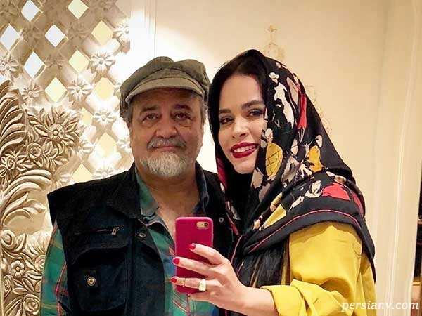 کودکی ملیکا شریفی نیا در کنار پدرش تا تولد دیار دختر امیررضا دلاوری