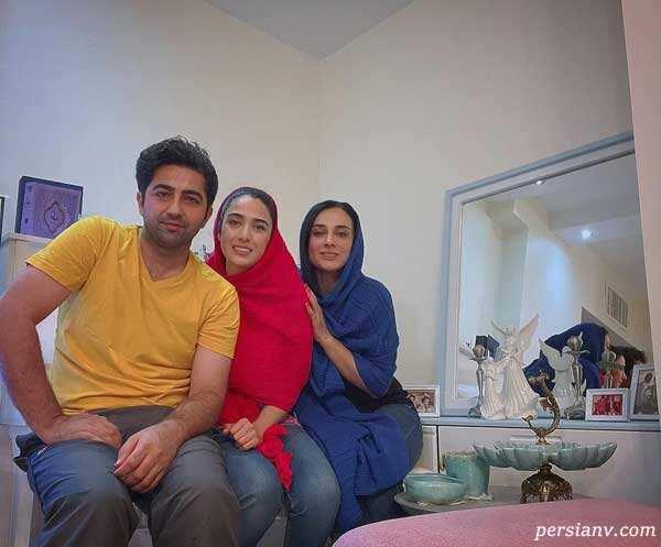 مجسمه نیوشا ضیغمی تا فرش قرمز قهرمان در فرانسه تا همسر احمد مهرانفر