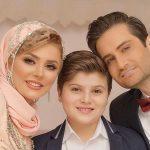 پویا امینی و همسرش تا تبریک روز دختر مهران غفوریان با مصطفی و محسن کیایی
