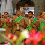جشن میلاد امام حسین(ع) در حرم امام علی(ع) + تصاویر