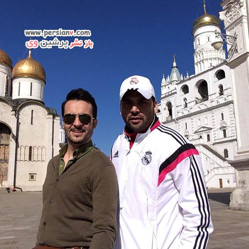 محمد سلوکی و احسان علیخانی در کاخ کرملین + عکس