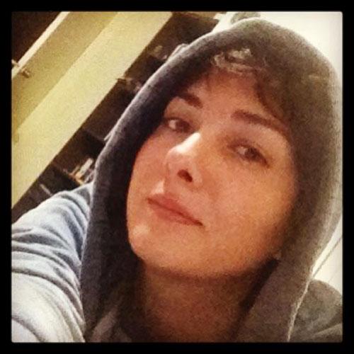 عکسی از چهره سرما خورده هانیه توسلی