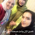 شبنم قلی خانی عکسی با رقیب اش در استوری اینستاگرام منتشر کرد