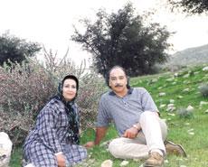 عکس و گفتگو با محمود پاک نیت و همسرش