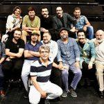 رضا عطاران به تماشای تئاتر پری نشست +عکس