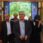 ابراهیم حاتمی کیا در کنار همسرش در یک جشنواره ! + عکس