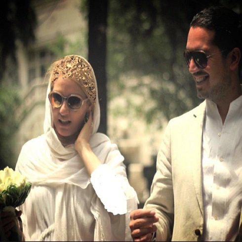 بالاخره مهناز افشار اولین عکس از همسرش را منتشر کرد ! + عکس