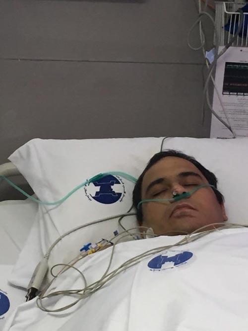 آخرین وضعیت جسمانی رضا داوودنژاد بعد از عمل جدیدش + تصاویر