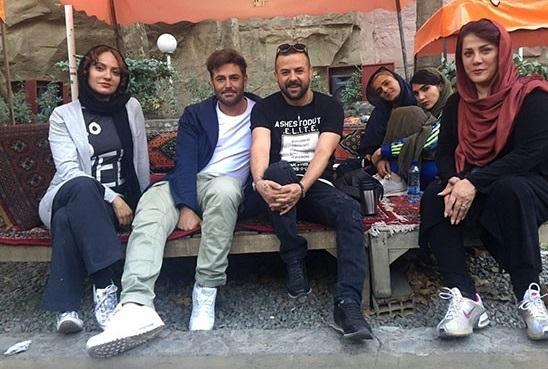 مهناز افشار و رضا گلزار از فردا در عاشقانه ی شبکه نمایش خانگی +عکس