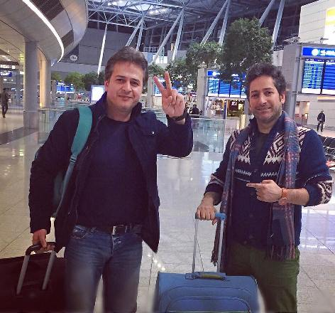 ماجرای مهاجرت امیر تاجیک و برادرش به خارج چیست ؟ +عکس