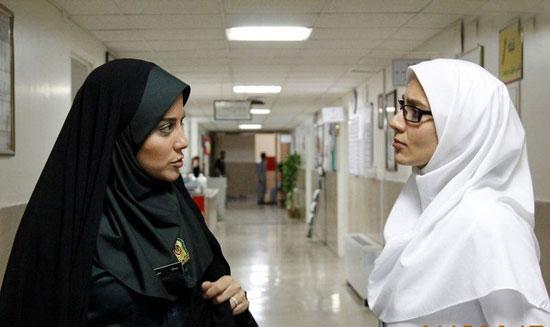 گفتگوی جالب با آشا محرابی بازیگر نقش پلیس زن در سریال آمین