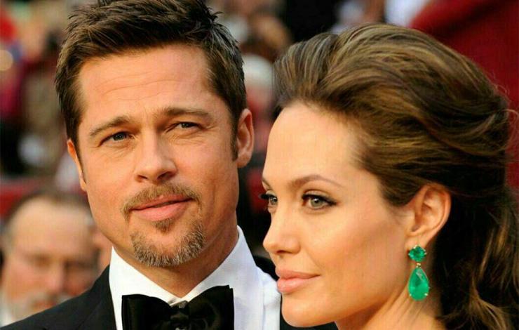 سنگ اندازی برد پیت برای جلوگیری از طلاق آنجلینا جولی +عکس