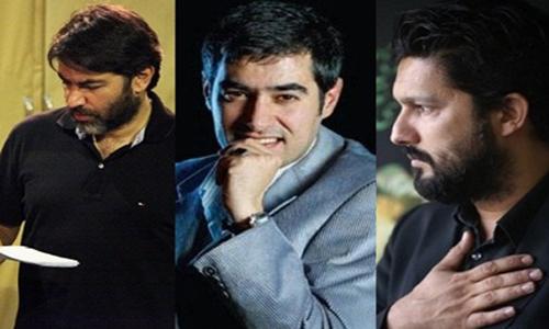 حامد بهداد،شهاب حسینی و پارسا پیروزفر در فیلم «فراموش شدگان»