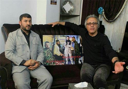 یکی از عموهای فیتیله ای مجری برنامه مدافعان حرم شد +عکس