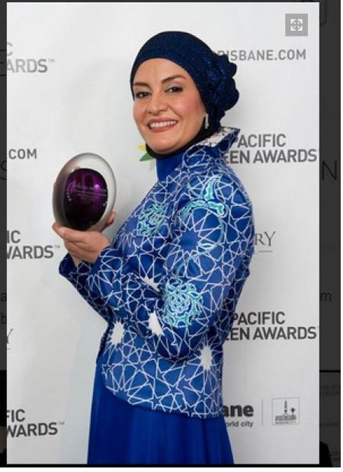 جایزه ویژه مریلا زارعی در جشنواره آسیا پاسیفیک + تصاویر
