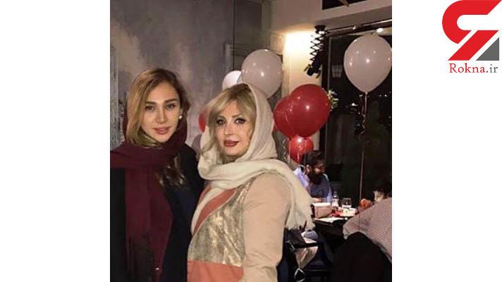نیوشا ضیغمی و خواهرش روشا ضیغمی در یک قاب! +عکس