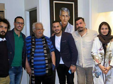 جشن تولد ناصر ملک مطیعی با حضور بازیگران مشهور + تصاویر