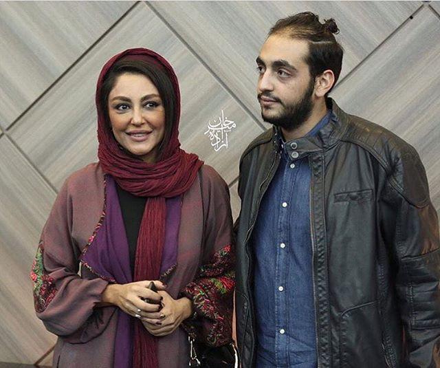 تصویر دیده نشده از شقایق فراهانی در کنار پسرش سام حسامی +عکس