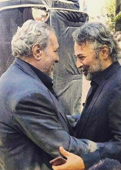 حسن جوهرچی و کاظم افرندنیا | ۲ بازیگر مرحوم ۴۵ روز پیش در آغوش هم