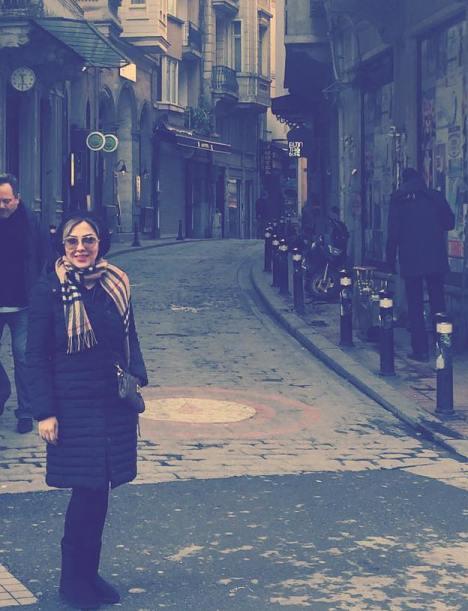 تیپ جدید لیلا اوتادی در کشور ترکیه و قبرس! +تصاویر