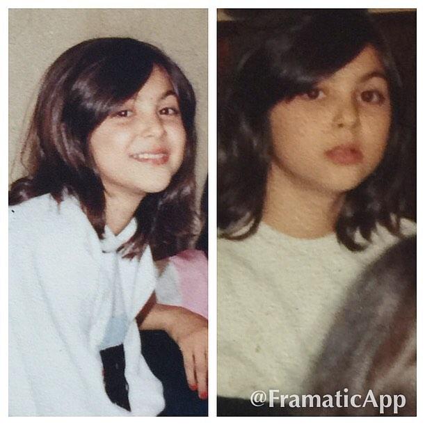 عکس جدید و دیده نشده از دوران کودکی لاله اسکندری