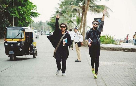 عکس جدید از بازی مشترک گلزار و بنیامین در فیلم سلام بمبئی
