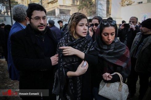 دختر حسن جوهرچی و شکایت به پلیس فتا برای حرفهای نامربوط +تصاویر