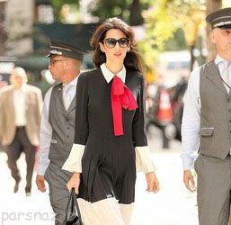 همسر معروف و زیبای جرج کلونی و ولخرجی های او +تصاویر