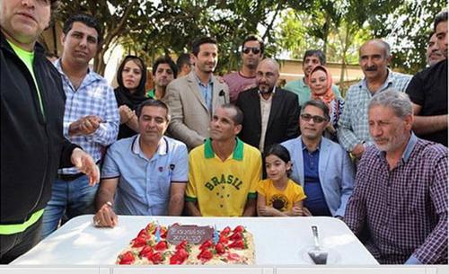 جشن تولد ریوالدو با حضور رضا عطاران + تصاویر