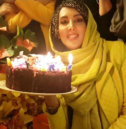 جشن تولد لیلا بلوکات در کنار دوستانش + تصاویر