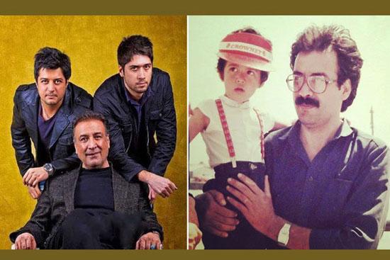 عیدانه عبدالرضا اکبری به فرزندانش چه بود؟ +عکس