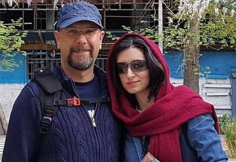 محمد بحرانی در کنار همسرش، مهناز خطیبی +عکس