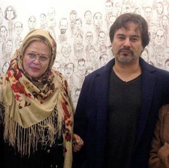 وقتی پیمان قاسم خانی بهاره رهنما را در آغوش می گیرد! +عکس