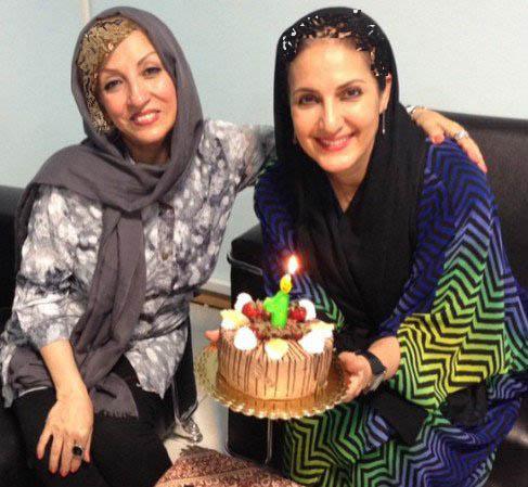 عکسی از جشن تولد ۵۲ سالگی فاطمه گودرزی