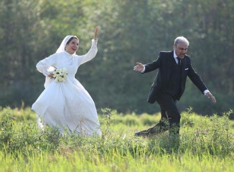 عکس جدیدی از بدو بدو مهناز افشار در لباس عروس !!!
