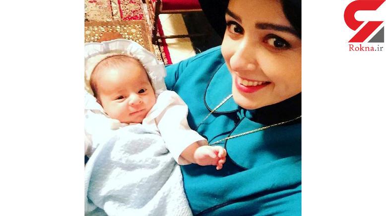 سلفی ترانه علیدوستی و پسرش در سریال شهرزاد! +عکس