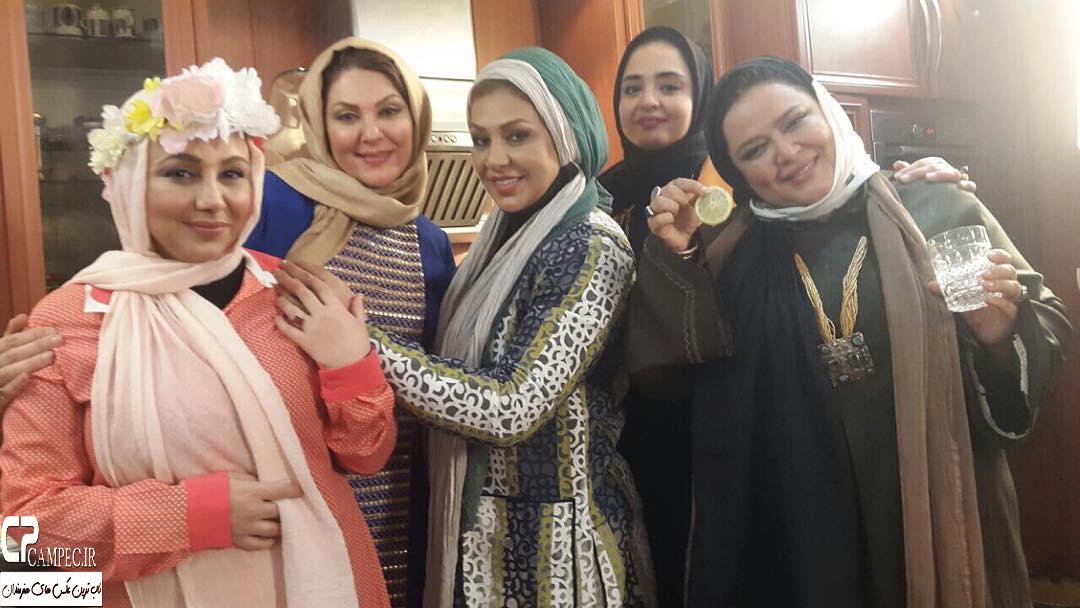 بازیگران مشهور در پشت صحنه سری جدید برنامه شام ایرانی + تصاویر
