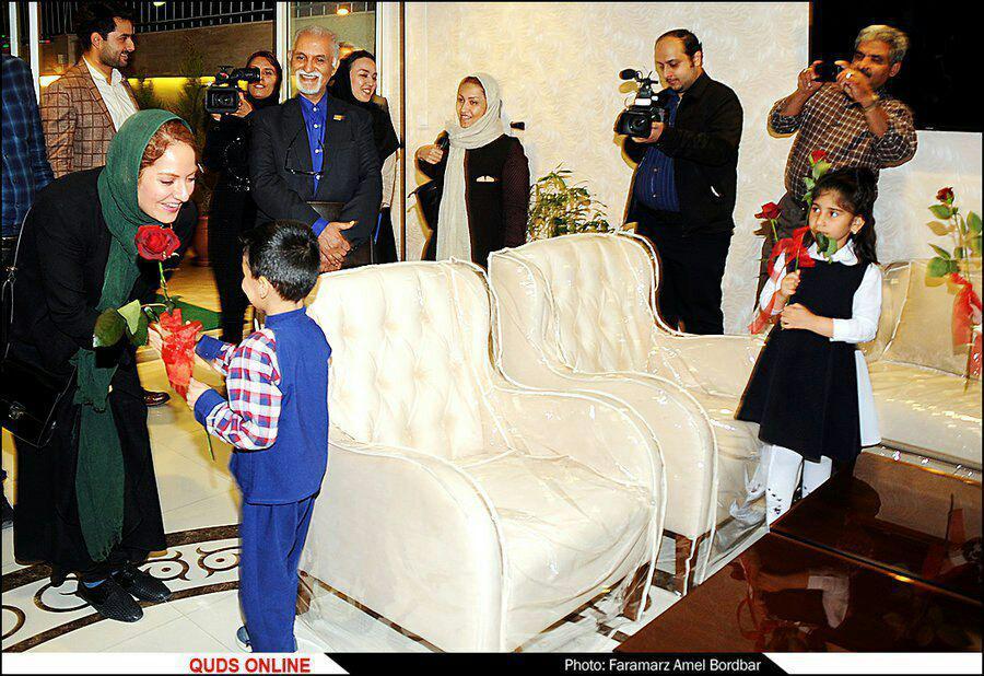دیدار مهناز افشار با خانواده رقیه