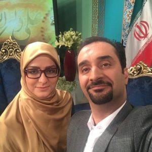 سوتی غیرمنتظره زوج سرشناس روی آنتن زنده تلویزیون ایران +فیلم