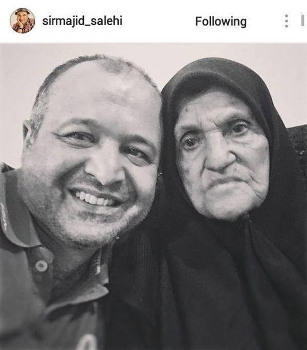 علی صالحی عزادار شد